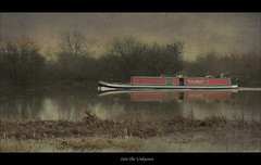 Into The Unknown (roddersdad) Tags: reflections boats eos countryside surreal eerie fantasy handheld rivertrent narrowboats canon1740f4l 2011 canon50d canon1740mmf4lusmlens stoneybight imagesbyclive