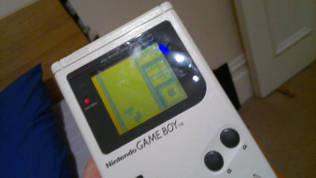 Retro Gameboy