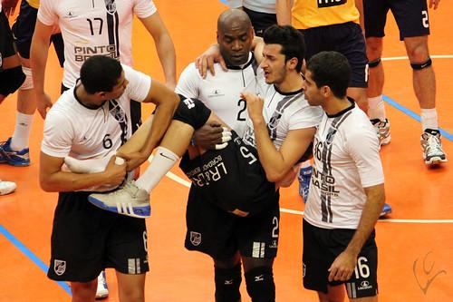 Voleibol 2ª fase: Vitória 1-3 Benfica