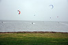 Kite surfing at Lytham St Annes