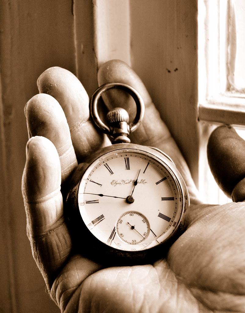 Week 7 - Antique Pocket Watch