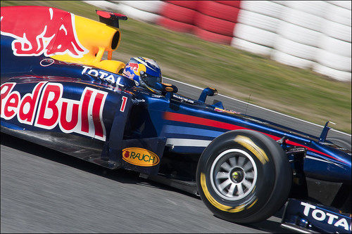 Sebastian Vettel (Red Bull) / Photo made by Sara Terrones
