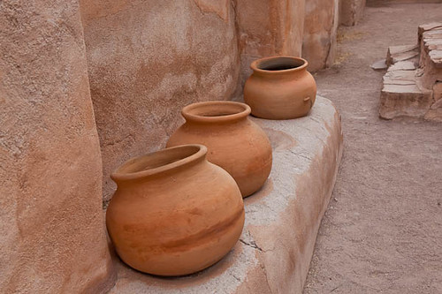Tumacacori - Three Pots