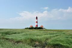 Westerhever Leuchtturm (Bernd 2011) Tags: lighthouse germany deutschland northsea nordsee leuchtturm schleswigholstein küste westerhever halbinsel eiderstedt salzwiesen warft westerheversand leitfeuer