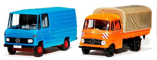 Brekina Mercedes 406 & 319