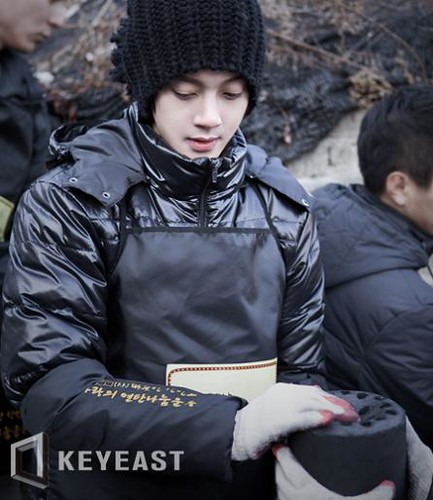 Kim Hyun Joong HotSun Coal Delivery Event Official Photos from Keyeast