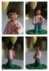 Reyna (Rouvelee's Creations) Tags: birthday polymerclay caketopper 1stbirthday rouvelee