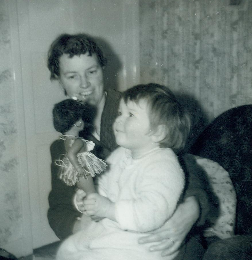 Jenny and Valerie McCreath 1962