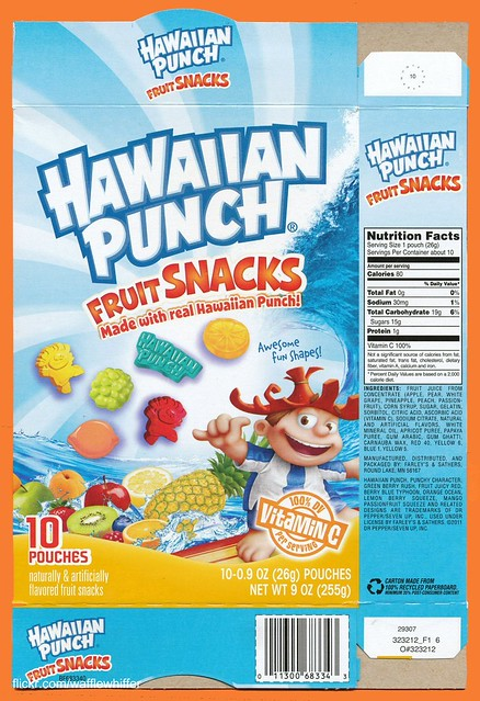 New Hawaiian Punch Fruit Snacks