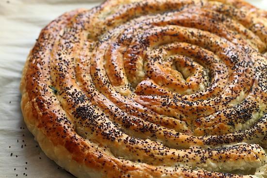 Spirala umpluta cu spanac