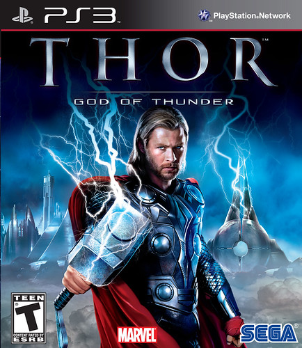Thor: God of Thunder PS3 Pack Front
