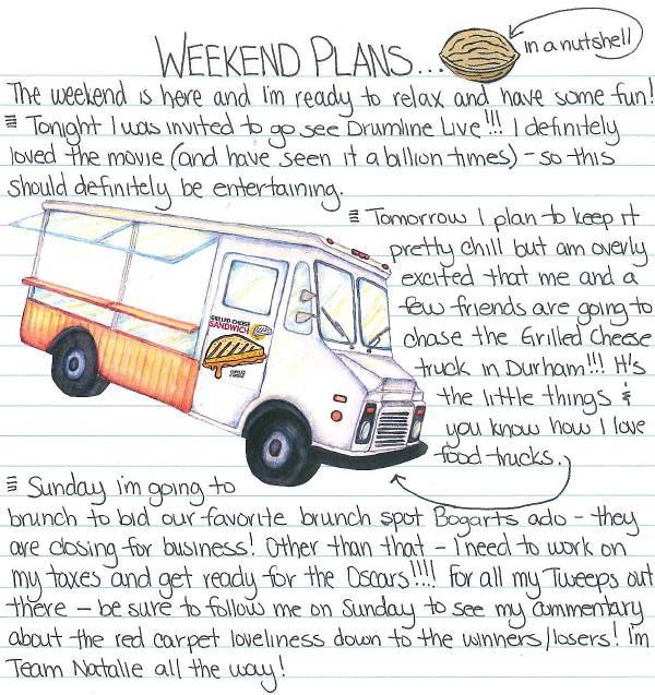 Weekend Plans 2.25.11