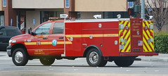 LOS ANGELES COUNTY FIRE DEPARTMENT (LACoFD) (Navymailman) Tags: county fire la los angeles dodge squad department lacofd