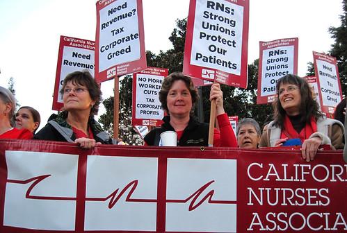 CNA marchers