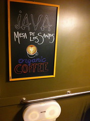 Restroom at Java Coffeehouse on Frankfort Avenue, Louisville, KY