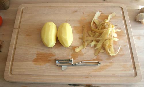 11 - Kartoffeln schälen