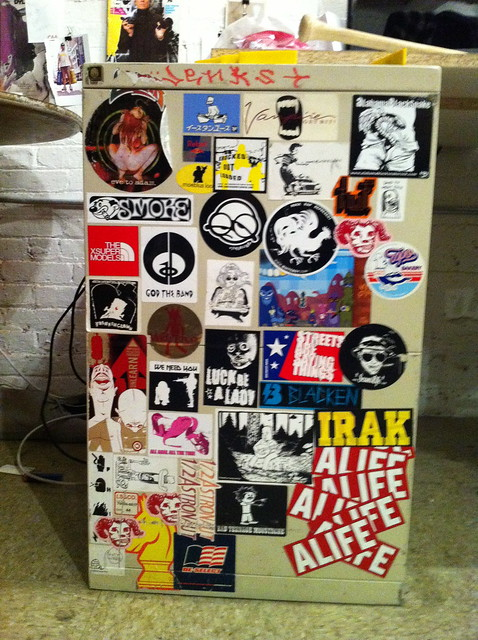 ALIFE BOWERY OFFICE STICKERS