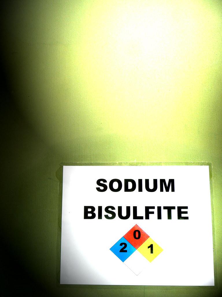how to make sodium bisulfite