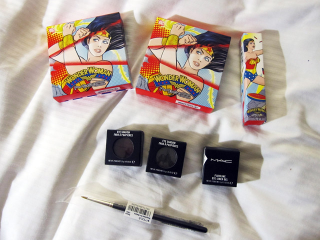 mac wonderwoman haul