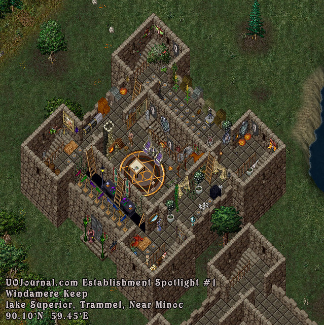 Ultima Online Establishment Spotlight #1, Lake Superior, Windamere Keep