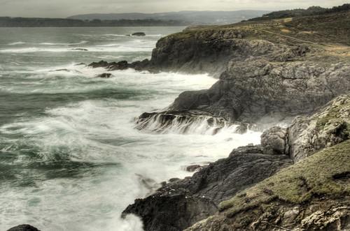 Coruña cliffs. Galicia. Acantilados de Coruña
