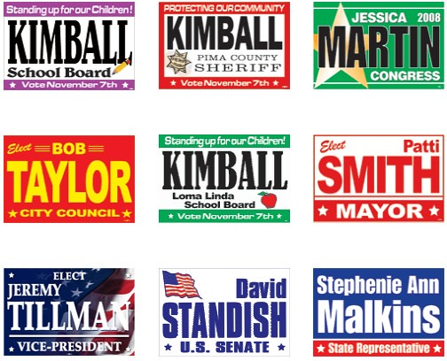 Rally Signs by signline-signline