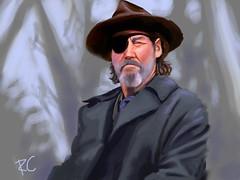 true grit (Mr.Sketchy) Tags: true grit cowboy eyepatch