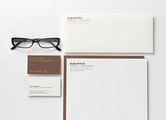 iline_stationery1 (Hint Creative) Tags: glasses website branding stationary classy artdirection eyewear readingglasses packagingdesign iline