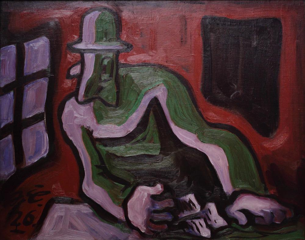 Josef Čapek, Zlé svědomí [Evil conscience], 1926