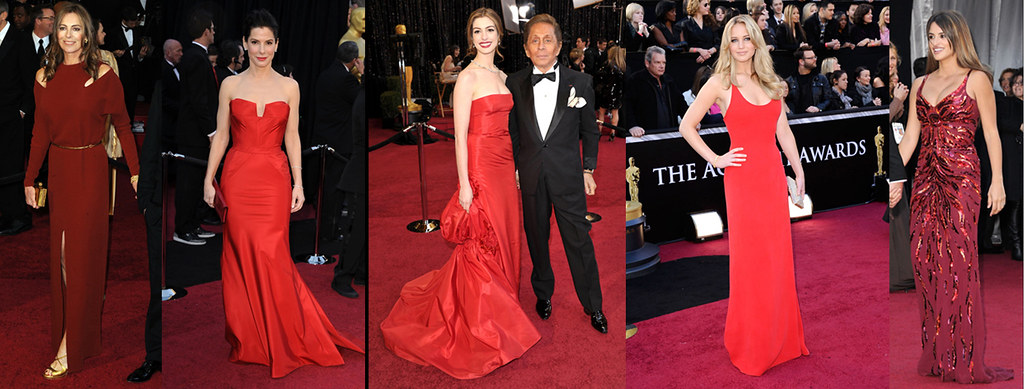 Oscars 2011 - red