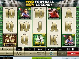 Top Trumps Football Legends slot game online review
