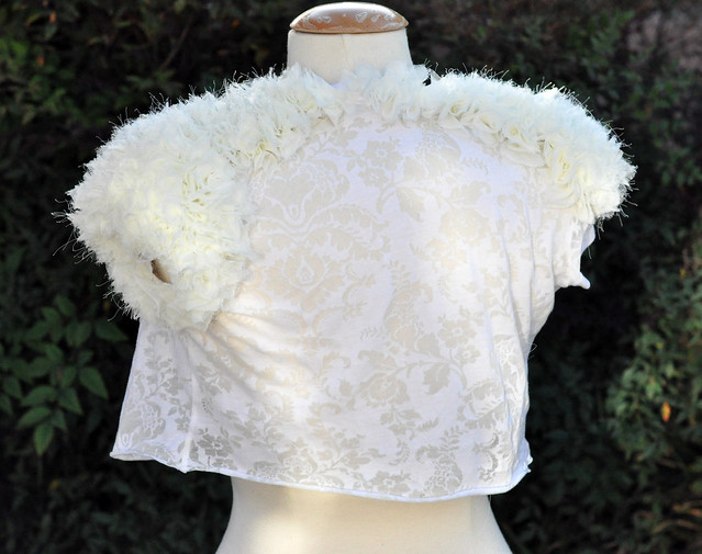 pretty wedding diy jacket, do it yourself weddings, marriage, wedding dressesDSC_0614