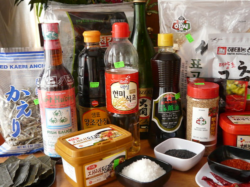 Korean Pantry Ingredients