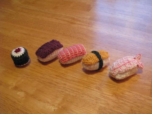 Crochet Sushi