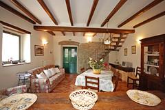Melograno: living room and dining area (Podere Trebbiolo) Tags: podere trebbiolo