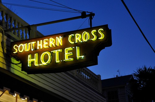Southern Cross Hotel Sign