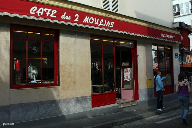 Café des 2 moulins, le célèbre café d'Amélie Poulain