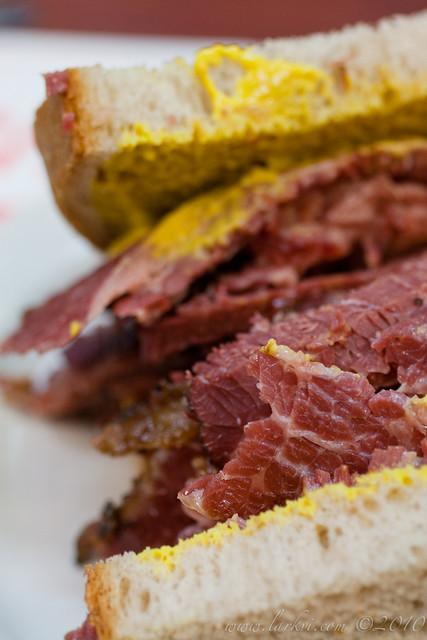 Smoked Meat Sandwich, Schwartz' Deli, Montréal, Quebec, 2011