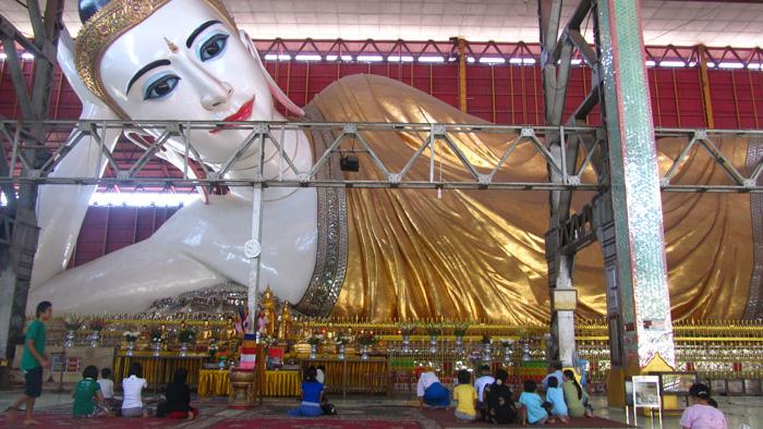 Recling Buddha, Chaukhtatgyi Temple