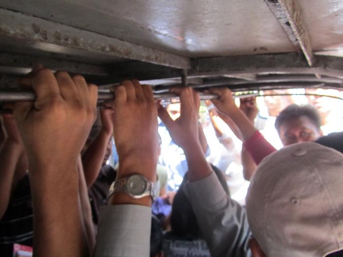 Ride back to Yangon center