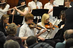 Avison Ensemble In Celebration concert, King's Hall, Newcastle University, 6 March 2011 (Avison Ensemble) Tags: girls boy england music english boys girl musicians kids youth choir newcastle children drums hall kid concert community education keyboard university child cathedral mayor performance young piano trumpet voice charles flute lord gateshead trying foundation teache