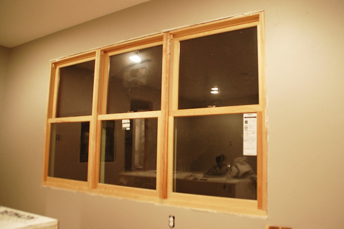 Rustic window trim