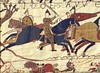Odon de Bayeux, armé d'un gourdin (Tapisserie de Bayeux)
