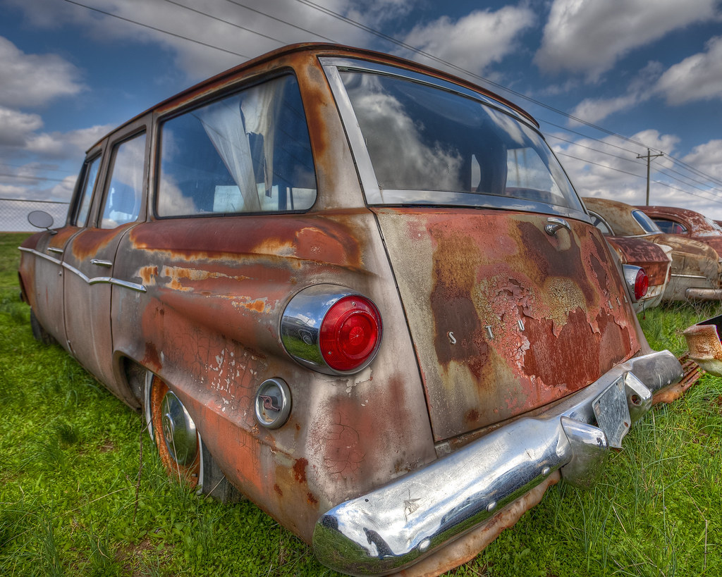 Rusty Studebaker Lark by hz536n/George Thomas, on Flickr