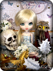 Annabel Lee (Game of Fate) Tags: fall classic love halloween vintage skeleton death skull bigeyes cool scary dolls head dal spooky owl blonde pullip lust dolly pullips maiden edgarallanpoe annabellee taeyang obitsubody byul pullipcustom beautifuldoll kingdombythesea girlwithbigeyes gameoffate poepoems itwasmanyandmanyayearago bythenameofannabellee