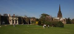Clumber Park 1 (tjsphotobrigg) Tags: uk england church sunshine landscape bluesky nottinghamshire clumberpark