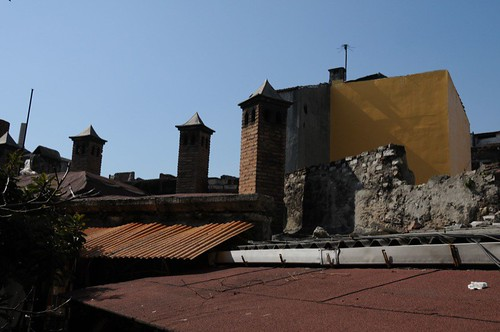 Typical roof scape