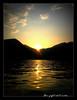 SHADHINOTA 6/40 [ Solidarity with BANGLADESH from Italy ] (dClaudio [homofugit]) Tags: sunset sun lake water evening boat casio bangladesh iseo mygearandme mygearandmepremium