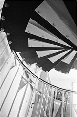 Sale (frscspd) Tags: cambridge 35mm pentax lookingup ark spiralstaircase marketsquare lovelyjazzmusicinthisshop