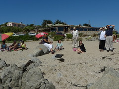Relaxing after lunch (ismaSan) Tags: chile family beach nishimura celis eltabo kaleuche
